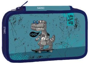 Školní třípatrový penál Stil – Cool robot
