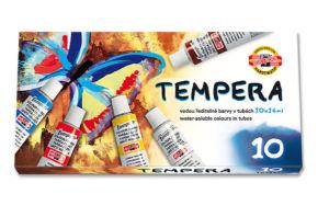 Temperové barvy 162502/10 10×16 ml