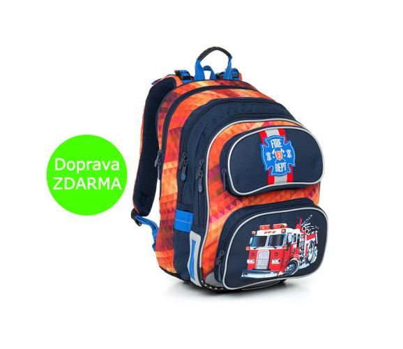 Topgal školní batoh CHI 793 G Red