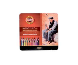 Umělecké akvarelové pastelky Koh-i-noor MONDELUZ – 48 ks