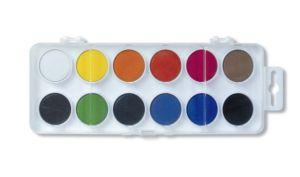 Vodové barvy 171510/12 – bílý barevník průměr 22,5 mm
