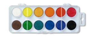 Vodové barvy 172510/12 – bílý barevník průměr 30 mm