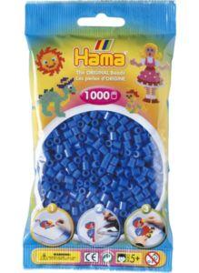 Zažehlovací korálky Hama  – Světle modré