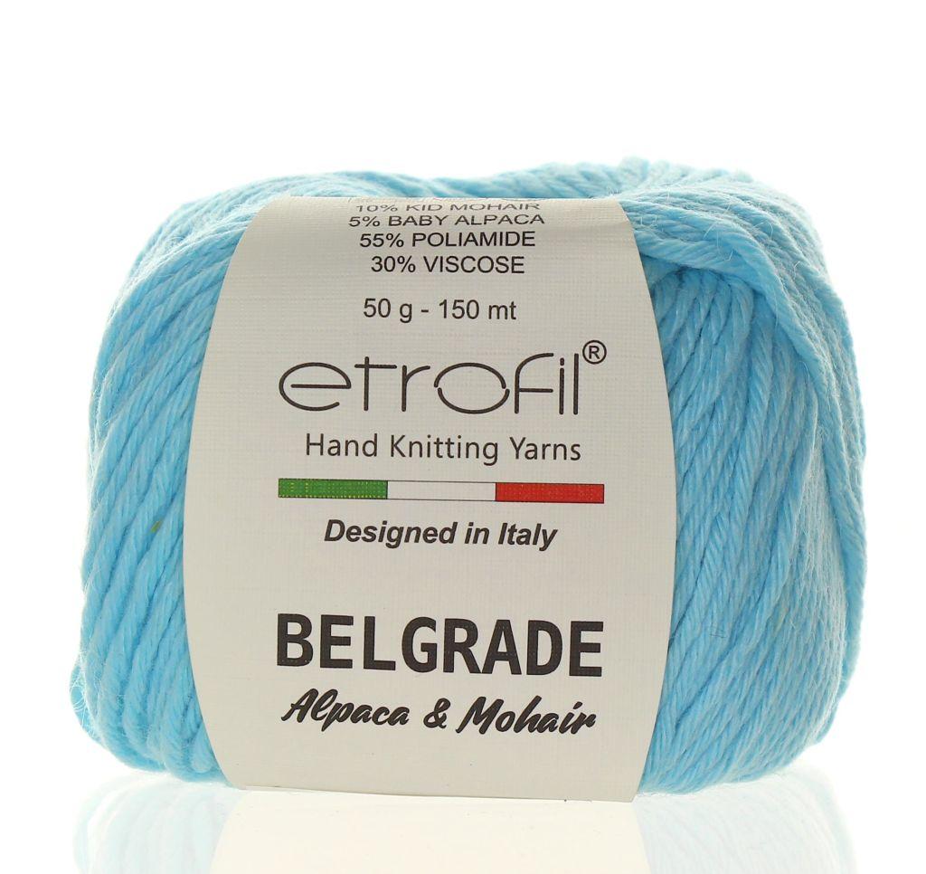 Belgrade světle modrá BL1014