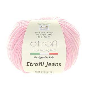 Jeans dětská růžová 073