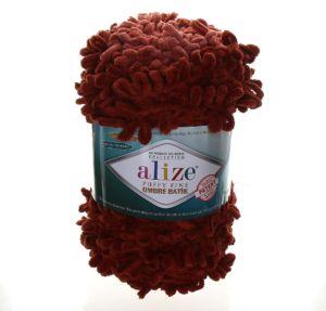 Puffy Fine Ombre Batik hnědá 7300