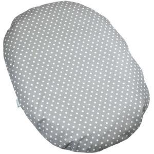 Babyrenka kojenecký relaxační polštář 80×60 cm Dots Big grey