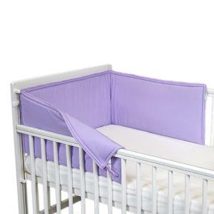 Babyrenka ochranný límec do postýlky 210 cm Uni violet