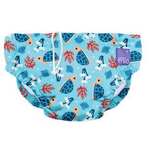 Bambino Mio koupací kalhotky L 9-12kg Turtle bay