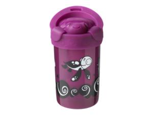 Dětský hrnek Tommee Tippee Super Cup stabilní s víčkem +18 měsíců 300 ml