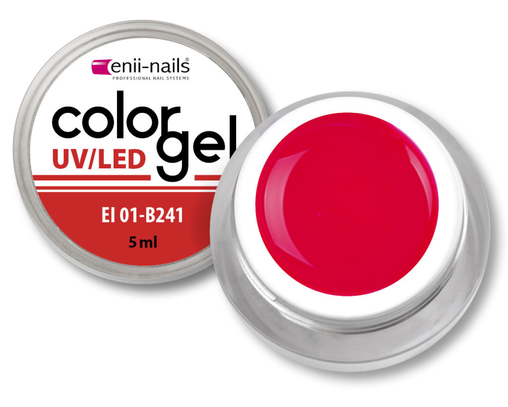 Barevný UV/LED gel 5 ml č.241