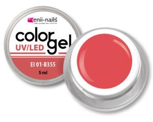 Barevný UV/LED gel 5 ml č.355