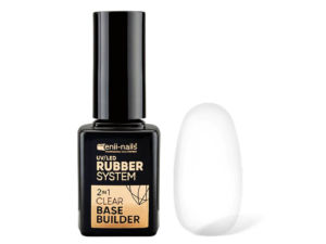 ENII RUBBER SYSTEM 2 in 1 base & builder clear 11 ml