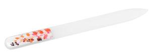 Skleněný pilník – DEKORATIVNÍ, tloušťka 3mm, délka 135 mm