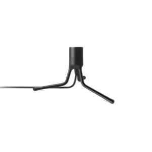 Stojan pro lampu Tripod Base matte black H 18,6 cm – UMAGE