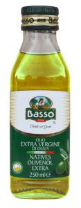 Basso  Olej olivový panenský extra 250ml lisovaný za studena
