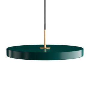 Závěsné světlo Asteria forest green Ø 43 x 4 cm – UMAGE