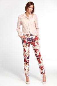 Dámské kalhoty SD33 květinová