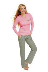 Dámské pyžamo Ewita růžová