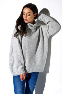 Dámský svetr LS274 šedá