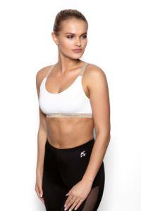 Fitness top fit Areta bílá
