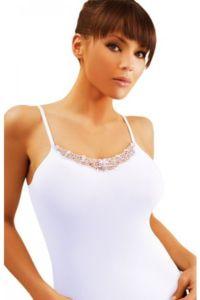 Spodní košilka Edna plus bílá