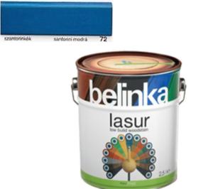 BELINKA LASUR 72 (20) modrá 0,75L