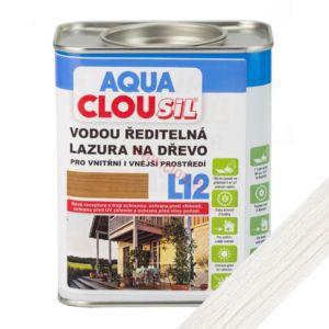 Clou AQUA CLOUSIL HOLZLAZUR L12 (Vodou ředitelná lazura bílá)