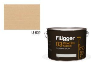 Flügger Wood Tex – Classic 03 Semi-transparent (dříve 96 Classic) – lazurovací lak- 3L -odstín U-601