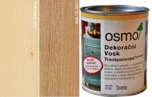 Osmo dekorační vosk transparentní 0,375L BEZBARVÁ 3101