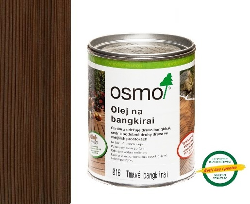 Osmo terasový olej 2,5L odstín 016 bangkirai tmavý 016