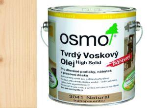 Osmo tvrdý voskový olej BAREVNÝ 0,125L NATURAL TRANSPARENT 3041