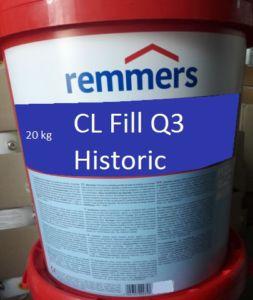 Remmers CL Fill Q3 Historic Kalkspachtel 20KG