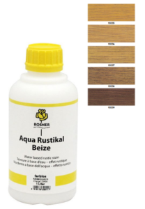 Rosner Aqua-Rustical Beize mořidlo 1L (pro listnaté dřeviny)