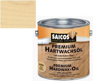 Saicos tvrdý voskový olej Premium BEZBARVÝ ULTRAMAT Plus 3320; 0,75L