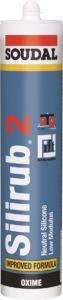 Soudal – Silirub 2 šedý 310ML