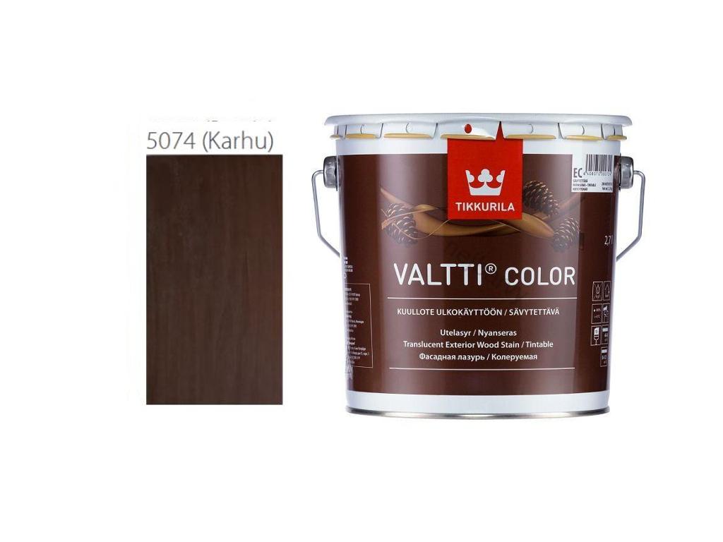 Tikkurila Valtti Color odstin Karhu/5074-2,7L