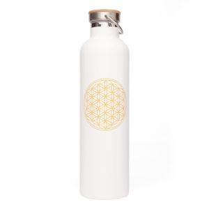 Bodhi Vacuum Bottle termoska 1000 ml biela Kvet života