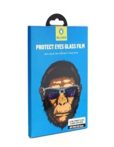 BLUEO 2.5D Zdravý zrak – ochranné tvrzené sklo Gorilla Type (0,2 mm) iPhone 11 Pro / X / XS – černé