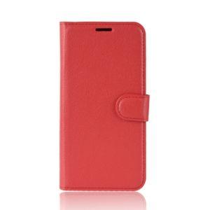 Kožené pouzdro CLASSIC pro Motorola Moto E5 Play – červené