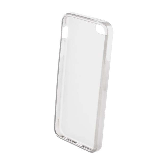 Silikonový obal Back Case Ultra Slim 0,3mm pro LG K4 – transparentní