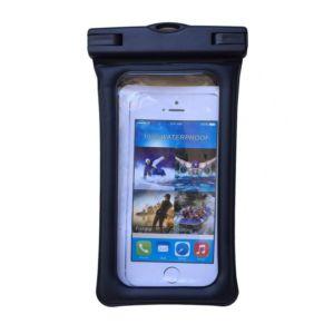 Voděodolné pouzdro na telefon nebo doklady – černé