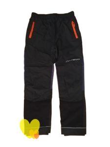 Kalhoty unisex s podšívkou šedé