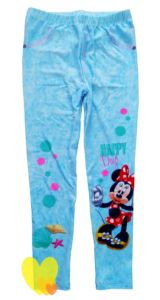 Legíny MINNIE Happy Days modré