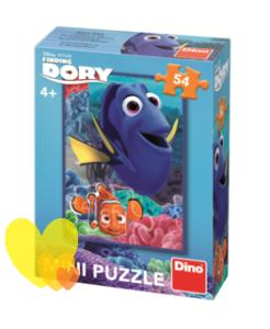 Mini puzzle DORY A NEMO 54ks
