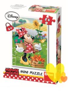 Mini puzzle MINNE 54ks