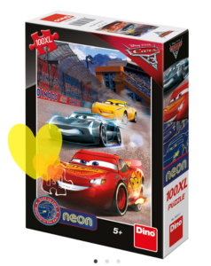 Neon puzzle CARS 100ks