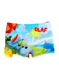 Plavky FROZEN OLAF boxerky červené