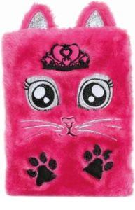 Plyšový deník KOČIČKA růžová 160×30×250