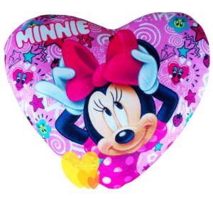 Polštářek MINNIE srdce růžový 35×30